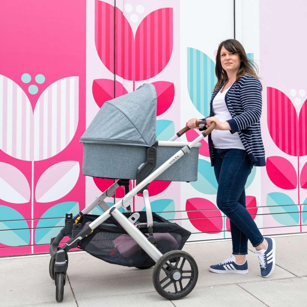 UPPAbaby VISTA stroller review, best stroller for two kids, best double stroller, UPPAbaby strollers, UPPAbaby VISTA Gregory, UPPAbaby Bassinet, best stroller, modern stroller, modular stroller