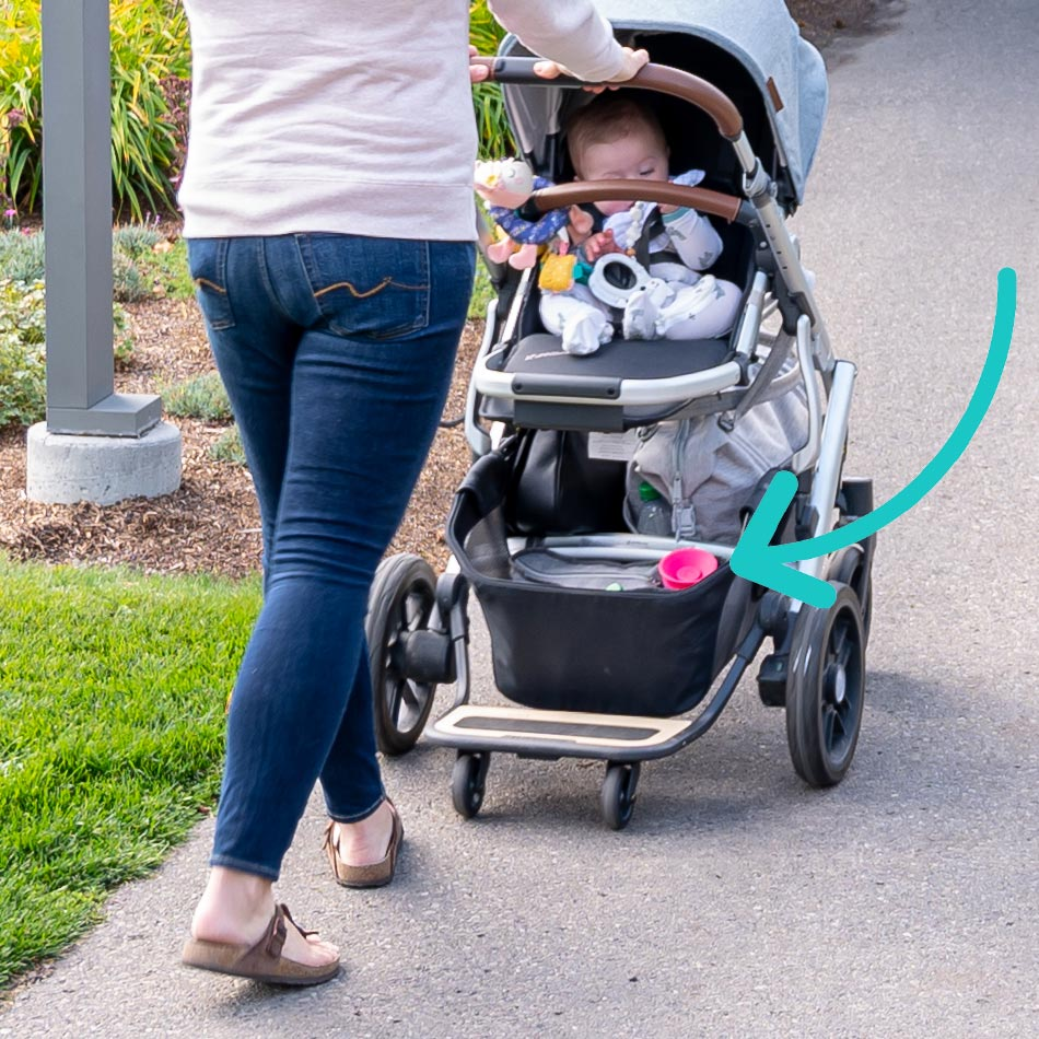UPPAbaby VISTA stroller review, best stroller for two kids, best double stroller, UPPAbaby strollers, UPPAbaby VISTA Gregory, best stroller, modern stroller, modular stroller, UPPAbaby VISTA cozy galosh