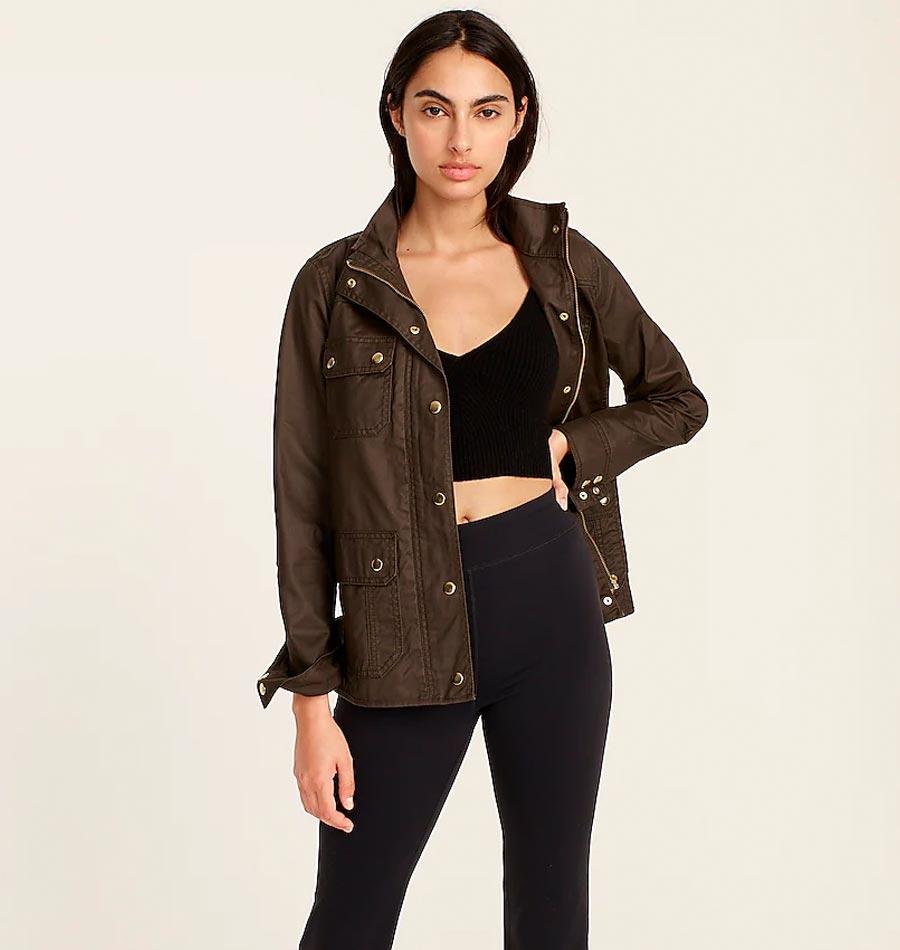 field jacket, how to wear a field jacket, styling a field jacket for fall, fall coats, fall jackets